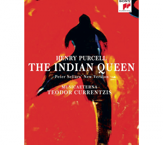 """The album cover of Henry Purcell's """"The Indian Queen"""" on Sony Classical."""