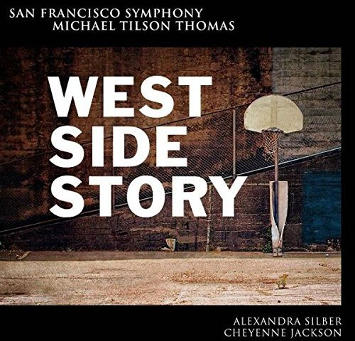 """The album cover of the San Francisco Symphony and Michael Tilson Thomas' performance of """"West Side Story"""""""