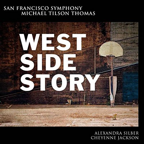"The album cover of the San Francisco Symphony and Michael Tilson Thomas' performance of ""West Side Story"""